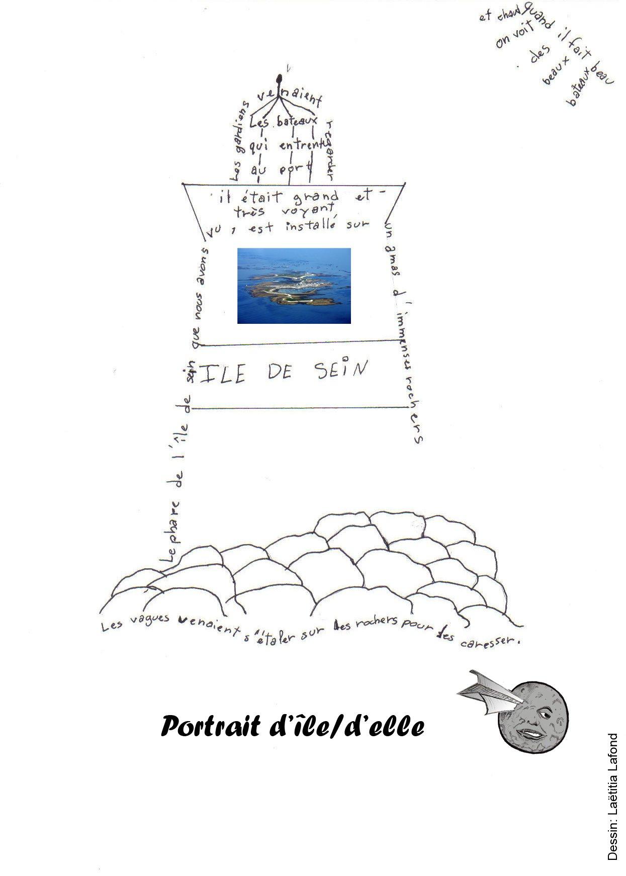 Portrait d'île/d'elle. dans Exercices vidéo jaquette-Sein